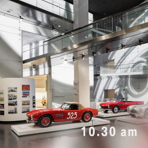 BMW Welt - Collect your BMW - Plan Pickup